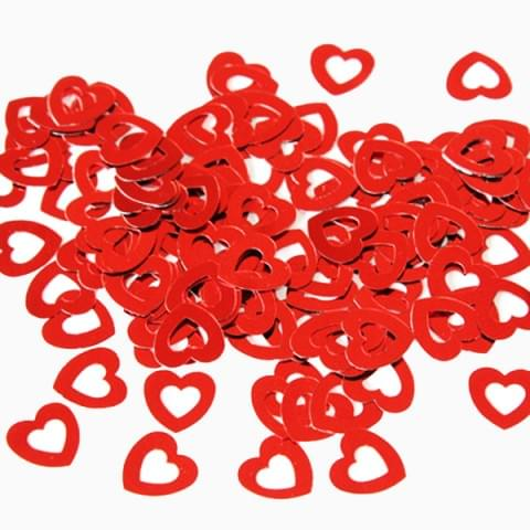 52853 Hearts Red