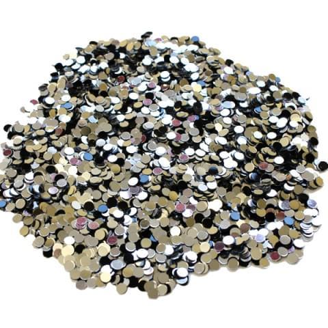 57890 Silver Black Dots 28g