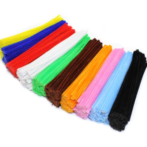 Chenille Pipe Cleaner Stems