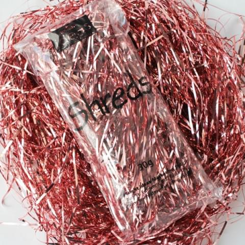 BI0313 Pink Metallic Shreds