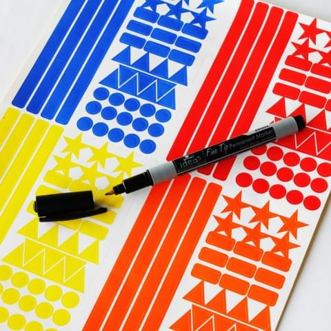 BI0454 Year Planner Pen and Stickers Pack