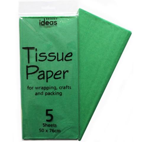 BI0550 Emerald Tissue Paper Pk05