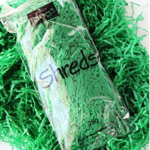 BI0560 Green Tissue Shreds