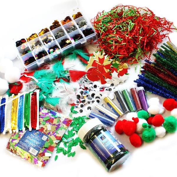 BI0609 Festive Collage Class Bundle