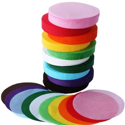 BI0610S Tissue Paper Circles Tower 4600 sheets