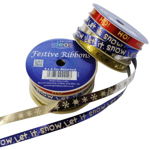 BI0959-63927 Festive Ribbon Spool 4×4.5m