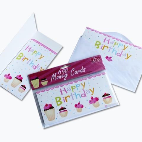 BI2319 Happy Birthday Money Cards