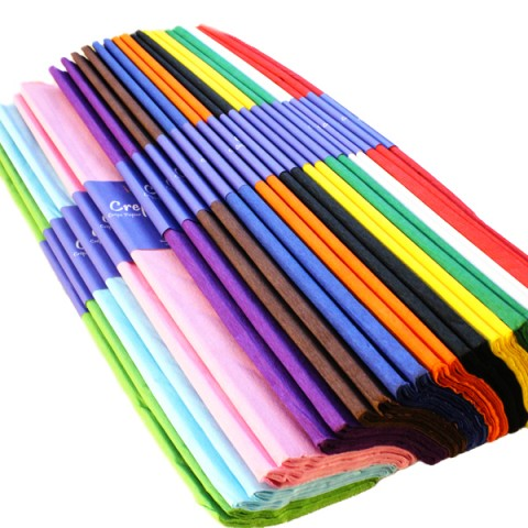 BI2586 Crepe Paper Assorted Pack 25