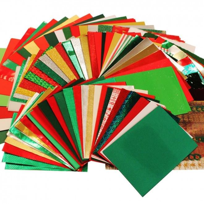BI2642 Festive Craft Papers Bundle