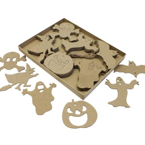 Halloween Cut Outs PK60 Decorations