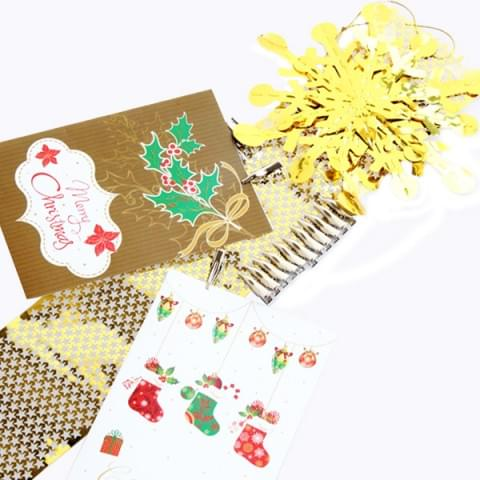 BI4057 Snowflake Christmas Card Holder