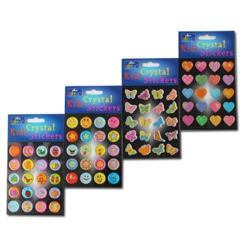 BI7513 Crystal Stickers Everyday PK20