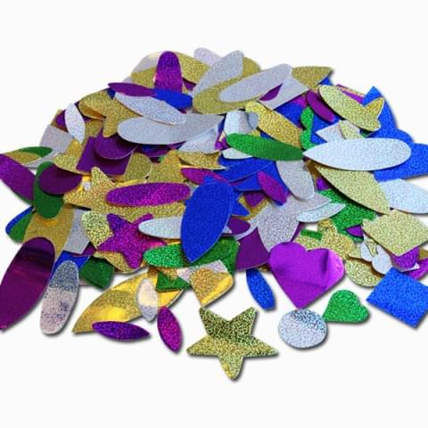 BI7529 Self Adhesive Stickers Shapes 100g Assorted