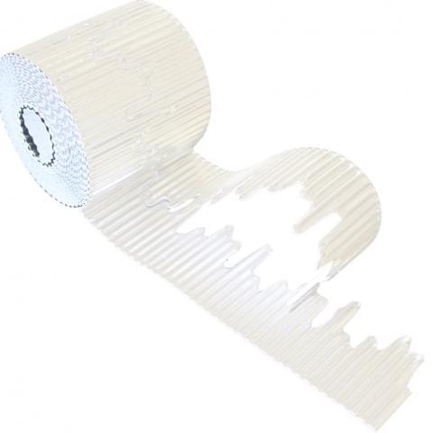 BI7866 Icicle Border Roll White