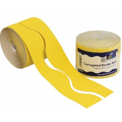 BI7886 Yellow Border Roll