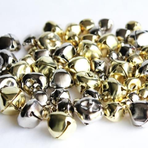 BI7978 Gold-Silver Jingle Bells