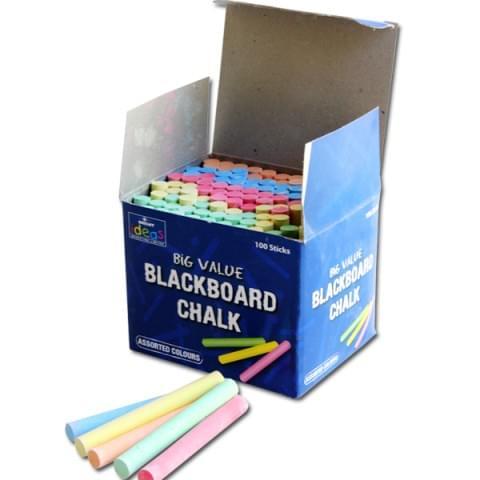 BI7983 Blackboard Chalk Assorted