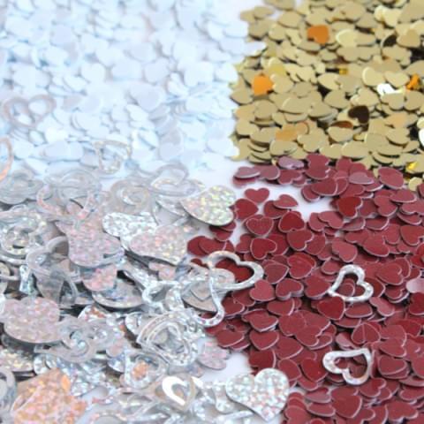 Hearts Confetti Sparkles 28g