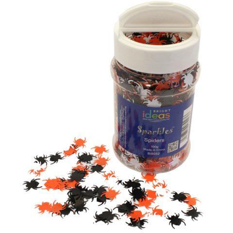 Spider Confetti Sparkles Shaker 100g