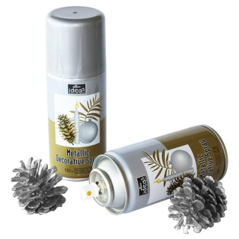 BI0024 Silver Lacquer Spray 150ml