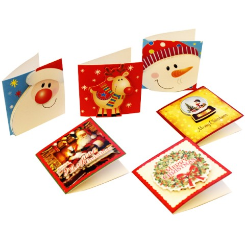 BI0938 Hand Crafted Christmas Gift Tags pk24