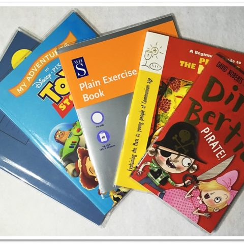 Clear PVC Book Covers – not just for exercise books but story books and library books too!