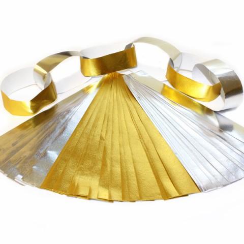 BI2019 Paper Chains Foil Gold & Silver PK75