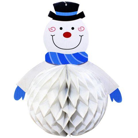 BI2073 Snowman Paper Decoration