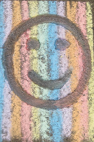 smiley-chalk-face
