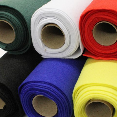 Felt Rolls 45cm x 2.5m Assorted Colours