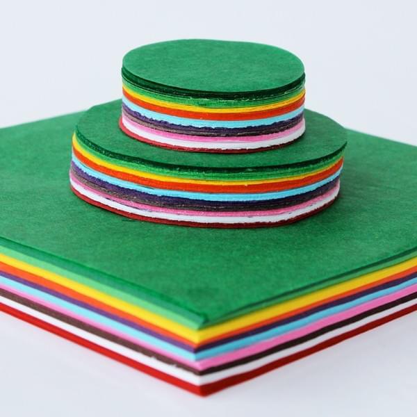 BI0613 Tissue Paper Circles Squares