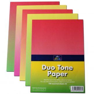 BI1020 Duo tone paper A4 pack 100