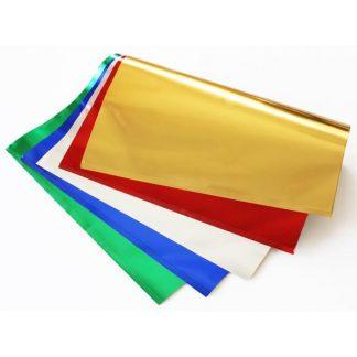 BI1083 Metallic Paper Sheets pk25