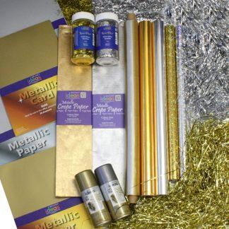 Metallic Gold and Silver Bundle
