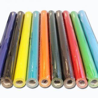 BI7920 Poster Paper Rolls pk10 Assorted Colours 76cm x 10m