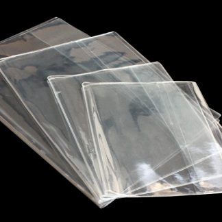 Clear Plastic and PVC book covers