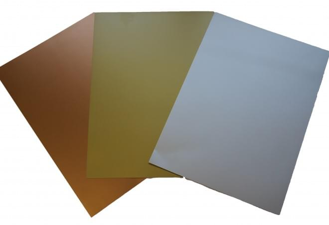 Metallic Card A4 sheets pk20