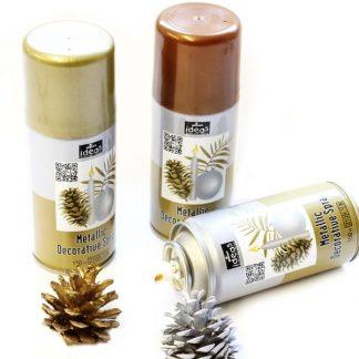 Lacquer Spray 150ml Gold/Silver/Bronze