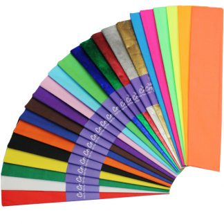 BI2589 Crepe Paper Assortment Pack