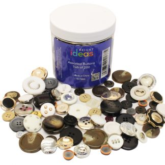 BI7966 Assorted Buttons Tub