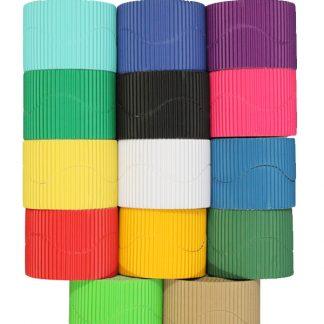 Single Corrugated Border Rolls